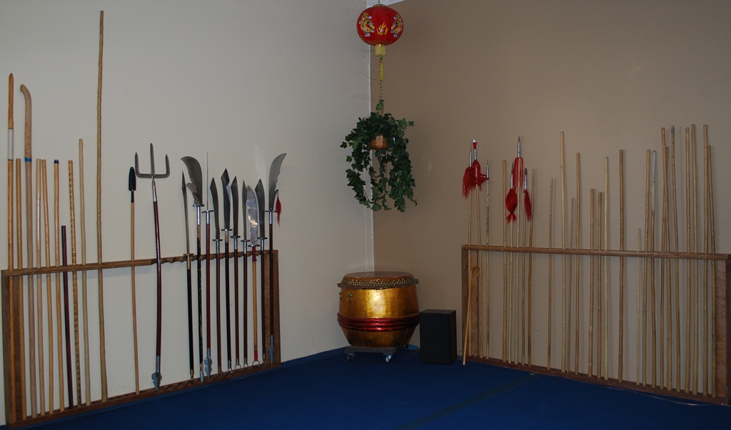 The simplest and best Wushu Kung Fu Weapons Rack ever